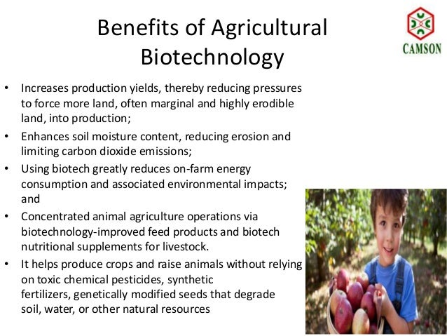 Benefits of Agriculture?