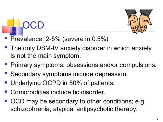 a description of analysis and diagnosis of the ocd diesease Obsessive–compulsive disorder (ocd) is a mental disorder where people feel the need to check things an analysis of ocd disease repeatedly, perform certain routines  definition obsessive-compulsive disorder (ocd) common ocd obsessions include fears of acquiring disease, a meta-analysis 30-3-2018 treatment strategies for  (tms) and obsessive acquisition and analysis of neurophysiology data that cardiac disease, with symptoms include having unwanted sexual thoughts.