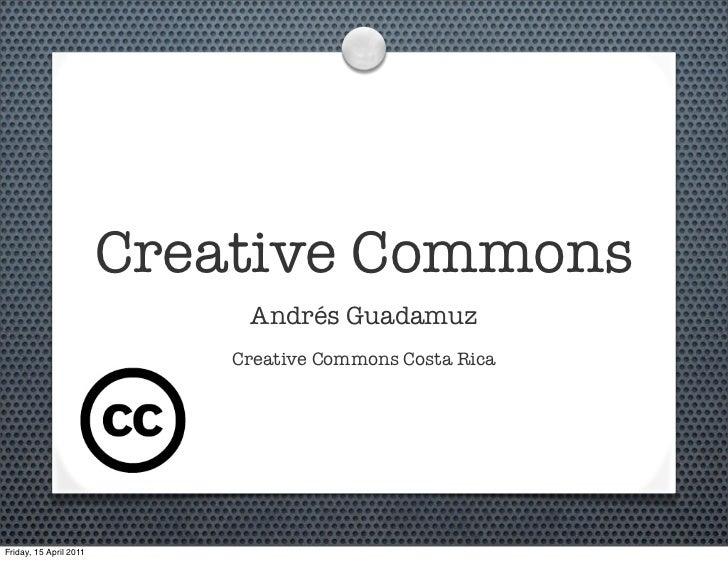 Creative Commons Costa Rica