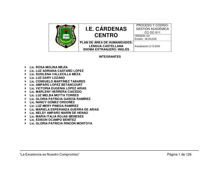 Cc dc-011 plan de area de humanidades lengua castellana e ingles v001 2009-2010
