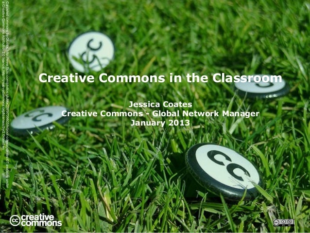 Creative Commons in the Classroom 2013