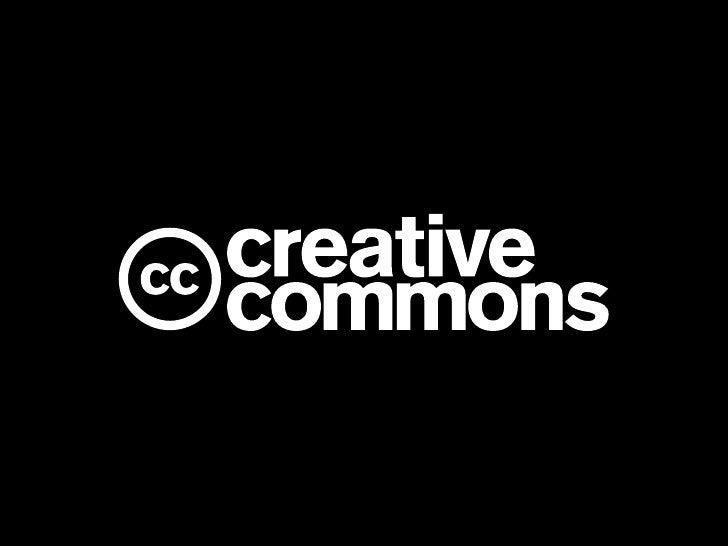 Introduction aux licences Creative Commons