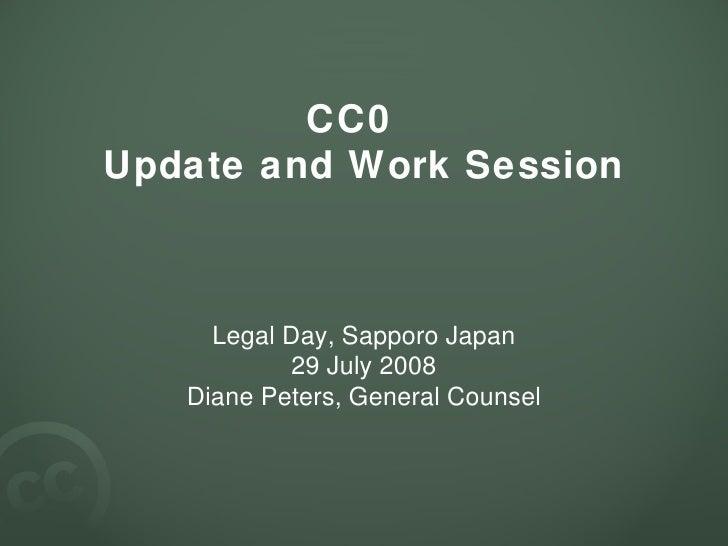 Cc0 Update 3 (Sapporo)