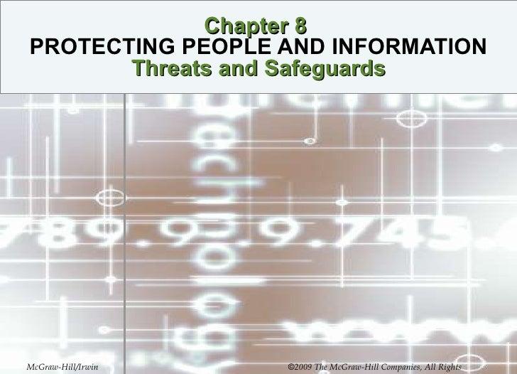 information, people $ threats