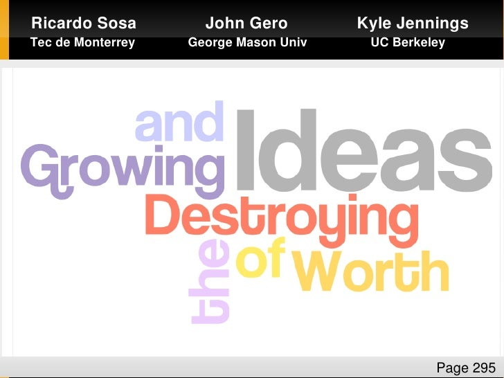 Growing and Destroying the Worth of Ideas