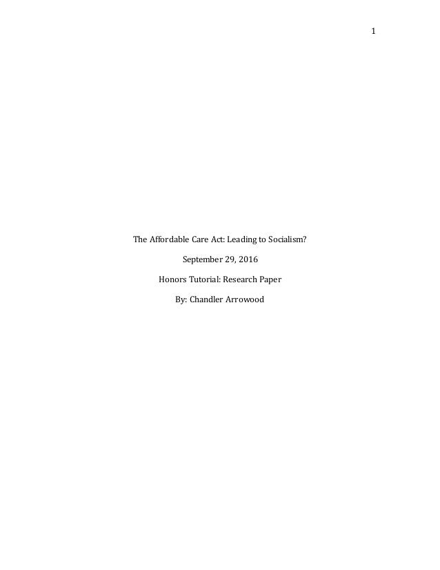 research paper socialism