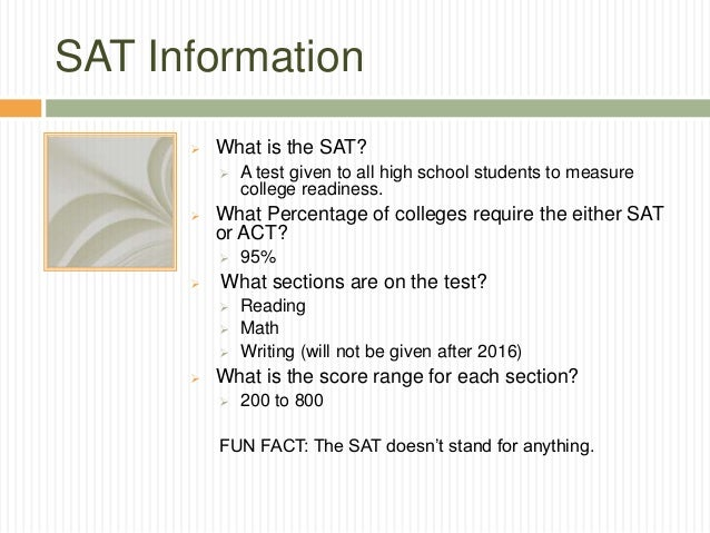 What is a SAT and ACT?