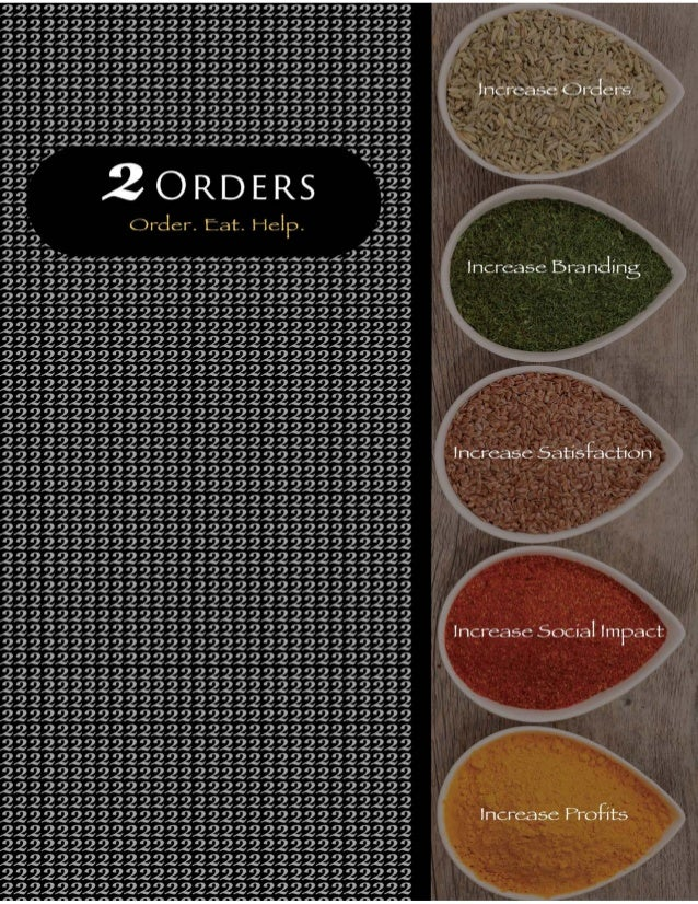 2 Orders Brochure
