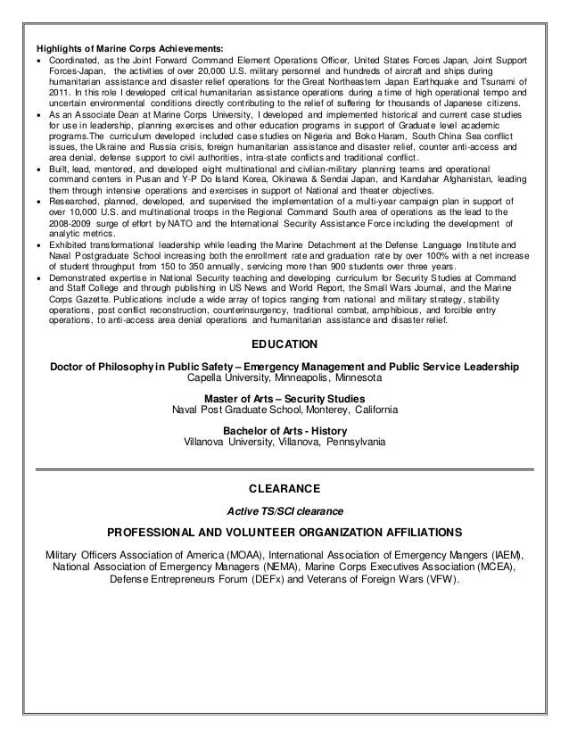 amazing infantry job description resume pictures simple resume - Marine Corps Resume Examples