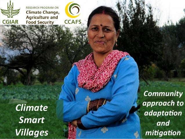 Climate   Smart   Villages    Community   approach  to   adapta6on   and  ...