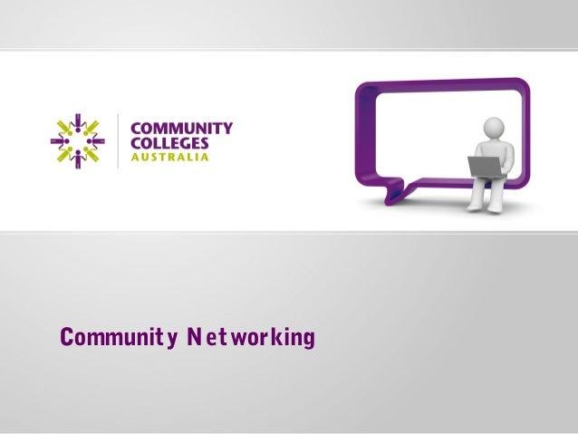 CCA networking