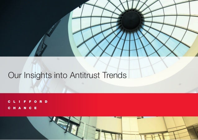 Our Insights into Antitrust Trends