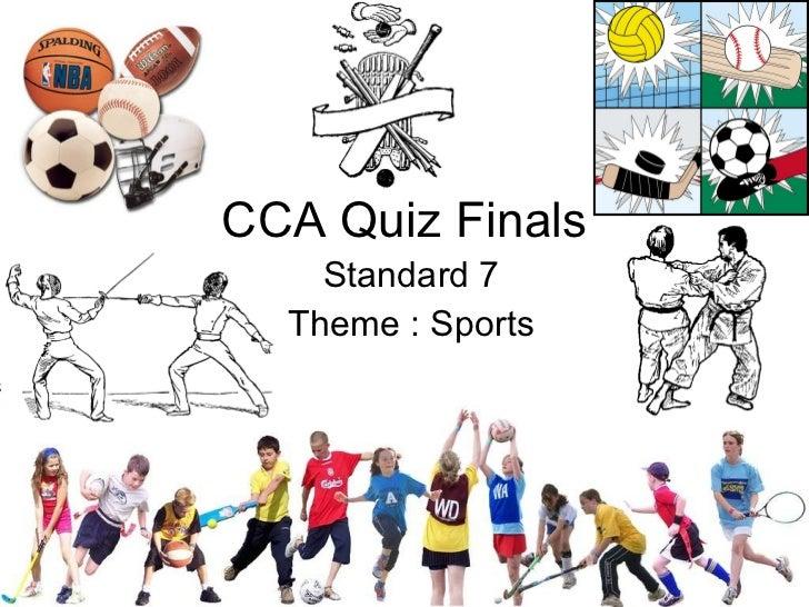 Cca Sports Quiz Finals