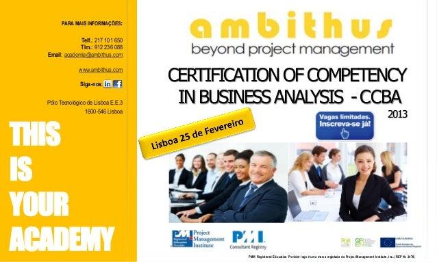 PARA MAIS INFORMAÇÕES:               Telf.: 217 101 650               Tlm.: 912 236 088  Email: academia@ambithus.com     ...
