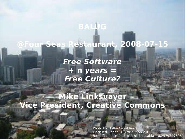 CC @ BALUG 2008-07-15