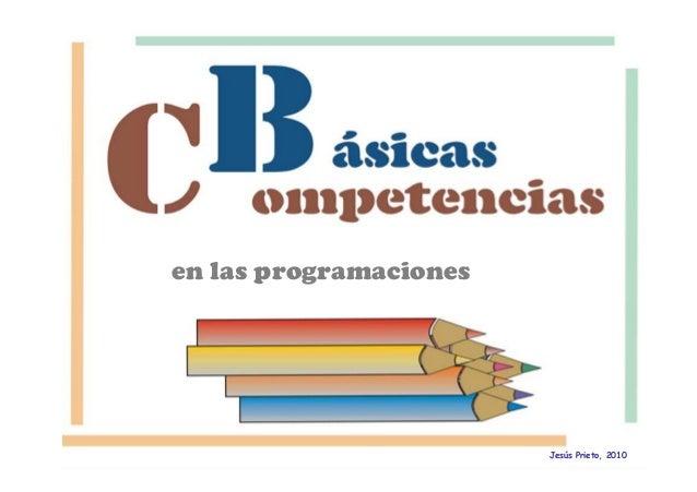 en las programaciones Jesús Prieto, 2010