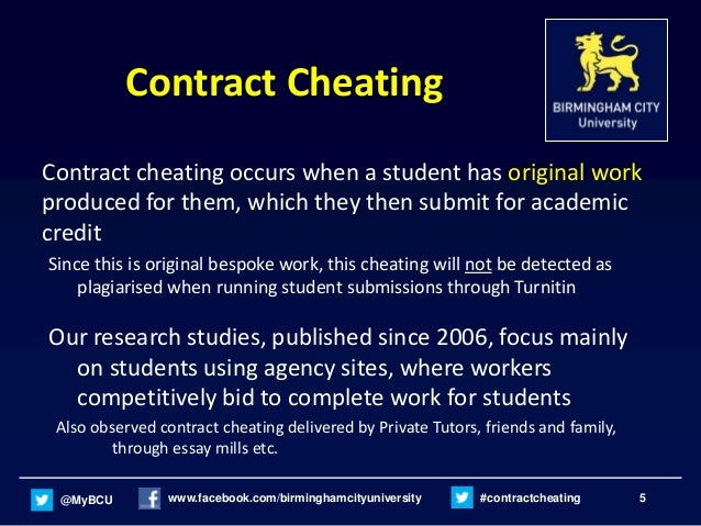 Can a teacher know if a student cheated on there coursework if it was customed written ?