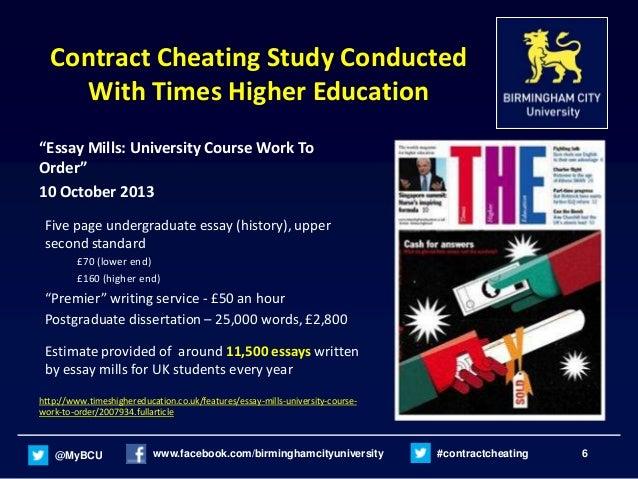 Cheat Your Dissertation