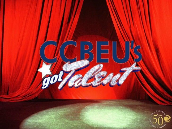 Ccbeu's got talent  2012    meeting