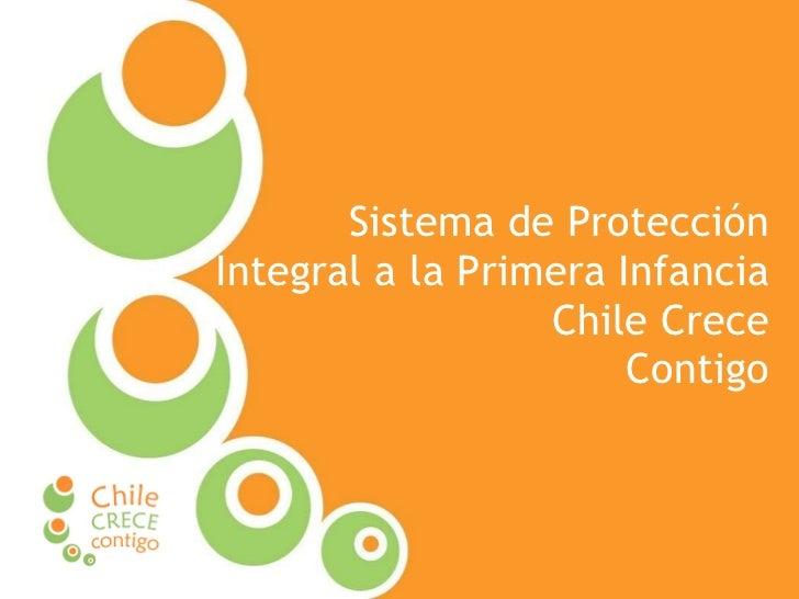 Sistema de Protección Integral a la Primera Infancia  Chile Crece Contigo