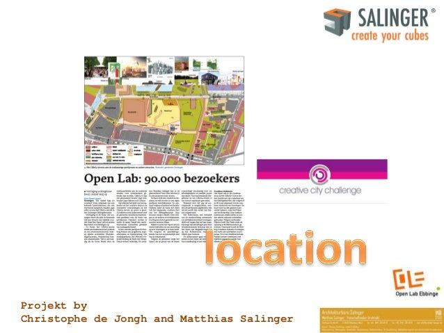 Projekt by Christophe de Jongh and Matthias Salinger