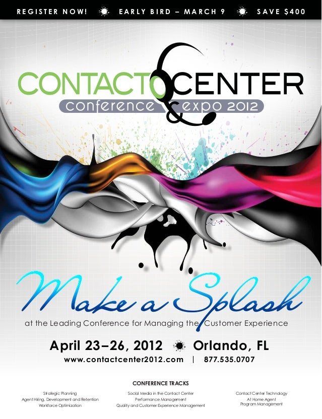 Register Now!                              Early Bird – March 9                                      Save $400Make a Splas...