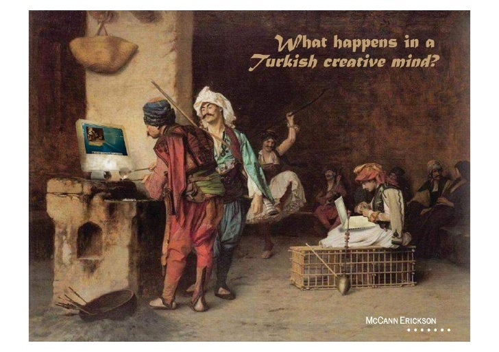 What Happens In A Turkish Creative Mind