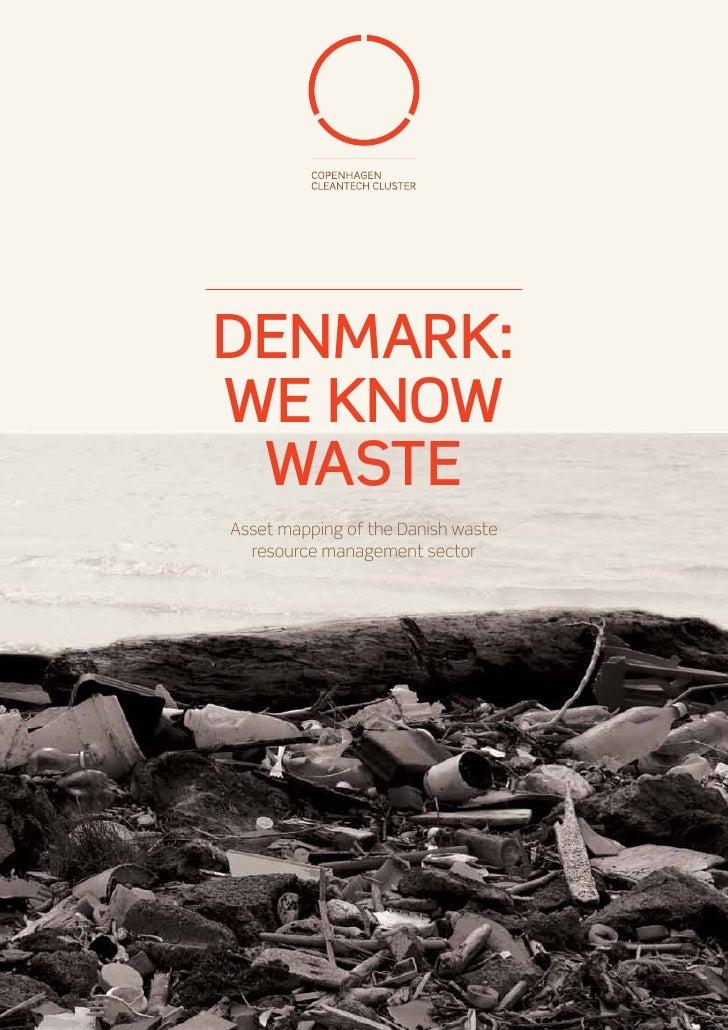 Copenhagen Cleantech Cluster - Waste Report 2012