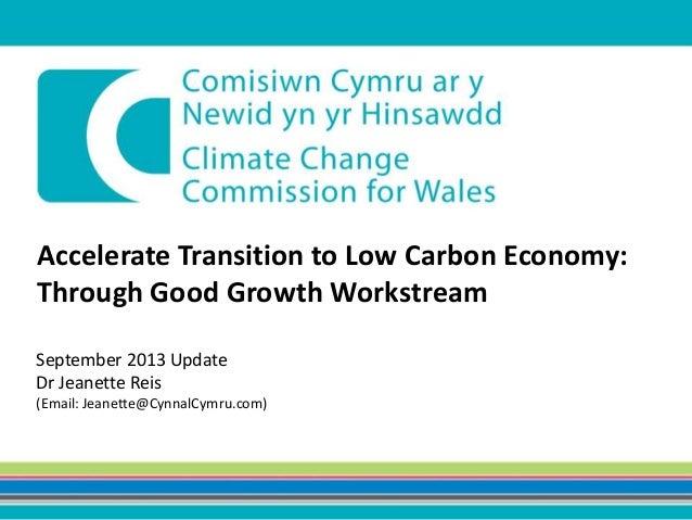 CCCW Presentation Good Growth Sept 2013