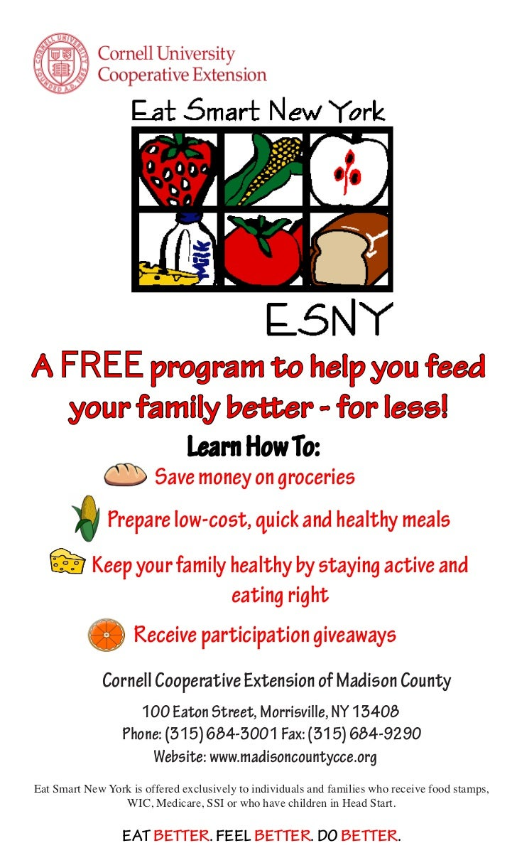 A FREE program to help you feed   your family better - for less!                               Learn How To:              ...