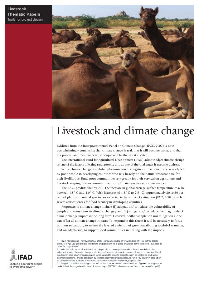 Livestock and Climate Change
