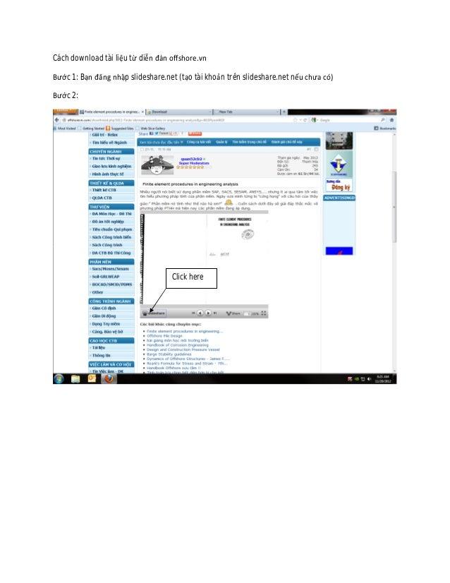 Cách download tài liệu từ diễn đàn offshore