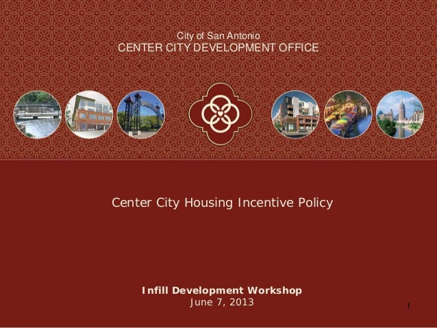 Center City Housing Incentive Policy