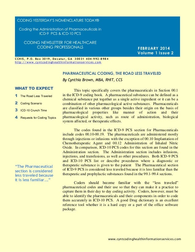 Cchis newsletter february 2014