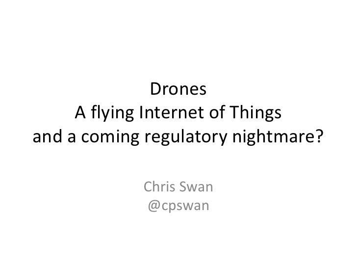 Cloudcamp London - Drones