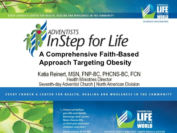 A Comprehensive Faith-BasedApproach Targeting Obesity