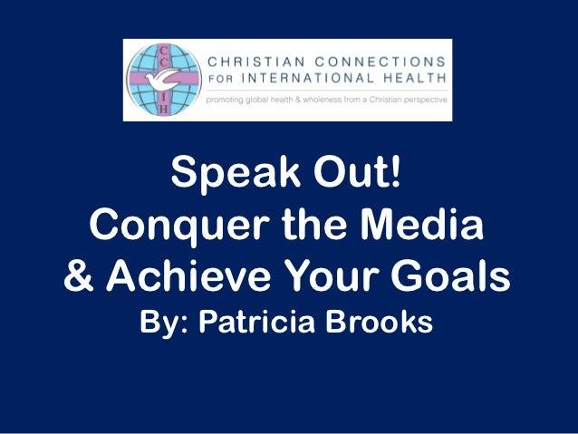 Ccih media relations_presentation_patricia_brooks