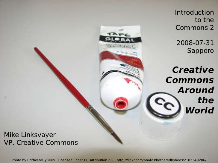 Creative Commons Around The World 2008-07-31