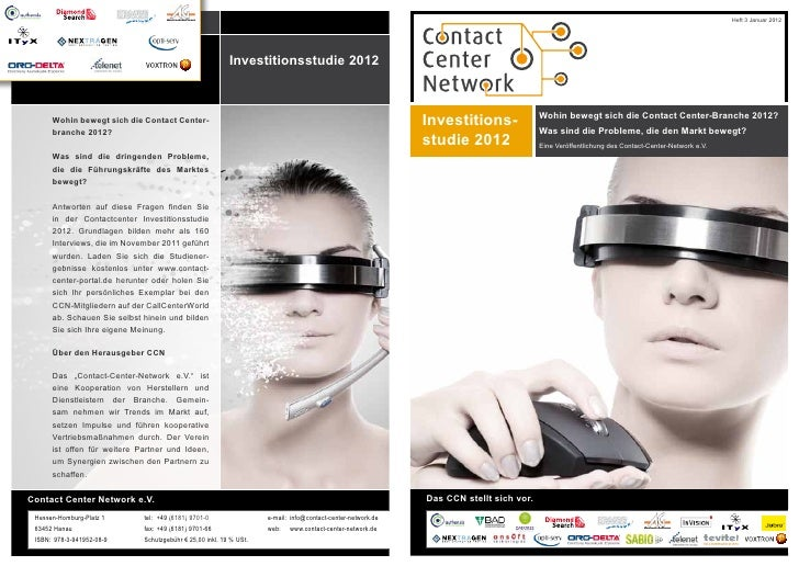 Contact Center Network: Investitionsstudie 2012