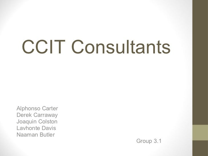 CCIT Consultants