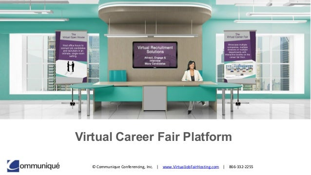 Virtual Career Fair Software | Job Fair Platform
