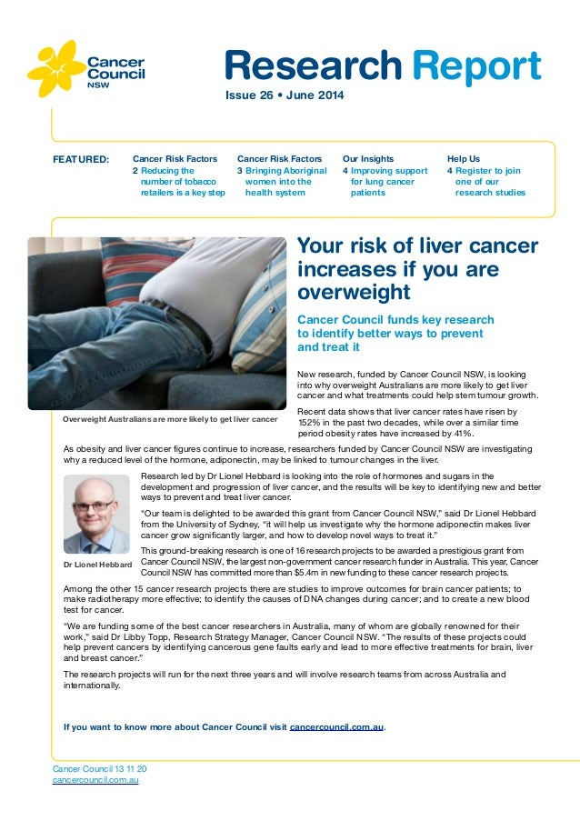 Research ReportIssue 26 • June 2014 Cancer Risk Factors 2	Reducing the number of tobacco retailers is a key step FEATURED:...
