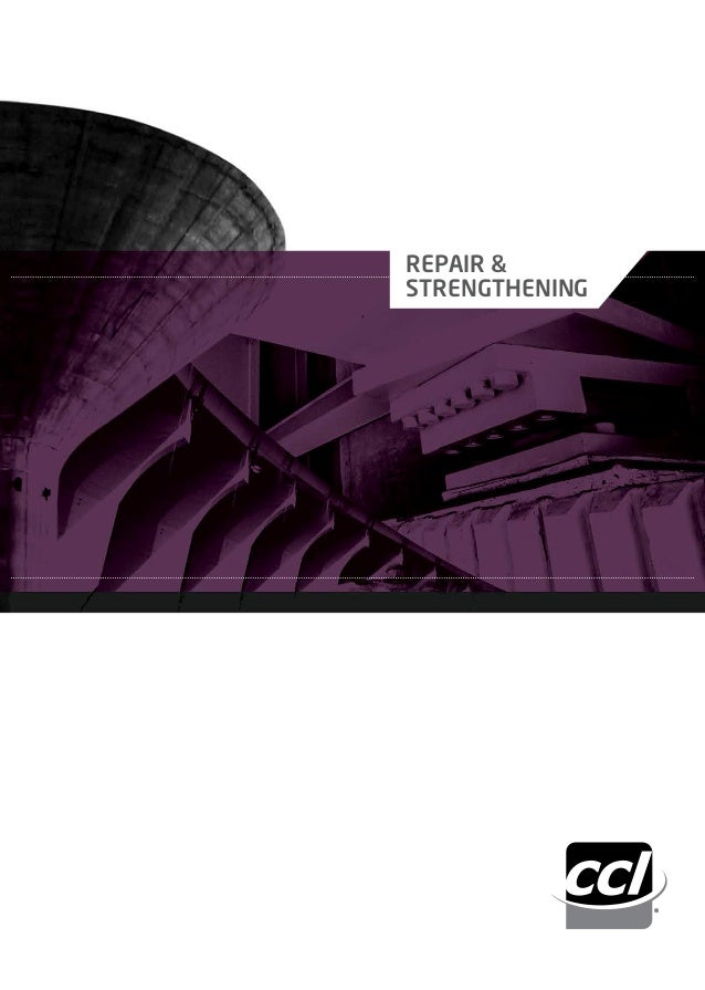 CCL Concrete Structural Strengthening Brochure