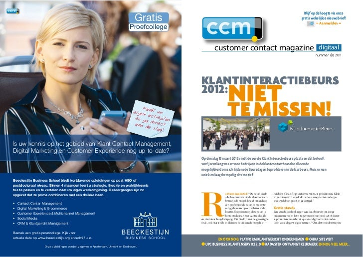 Customer Contact Magazine: DIgitaal nr. 7|8