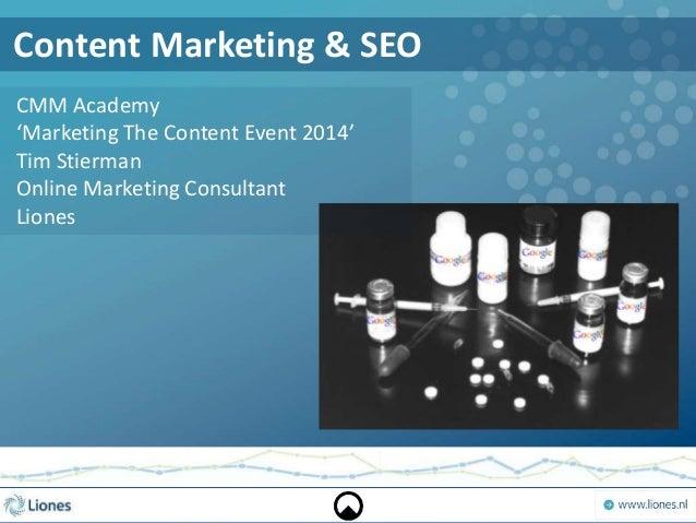 Content marketing & Search engine optimization (SEO)