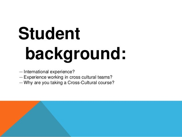 What do you think of cross-cultural adoption?