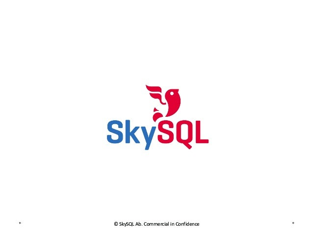 CCM Escape Case Study - SkySQL Paris Meetup 17.12.2013