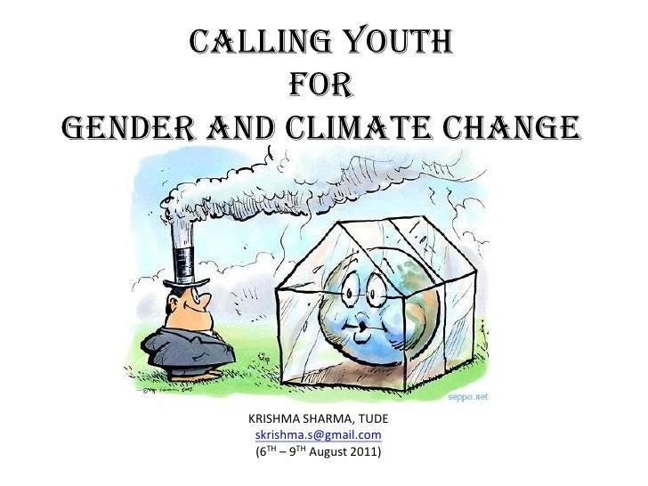Gender and Climate Change- Krishma Sharma
