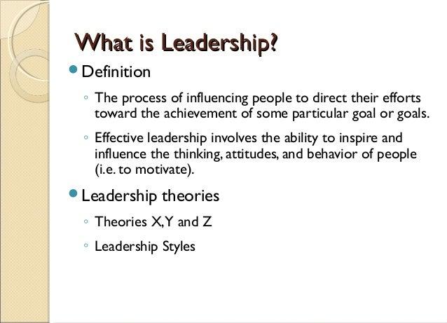 Leadership thesis topics