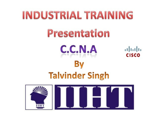 CCNA Industrial Training Presentation